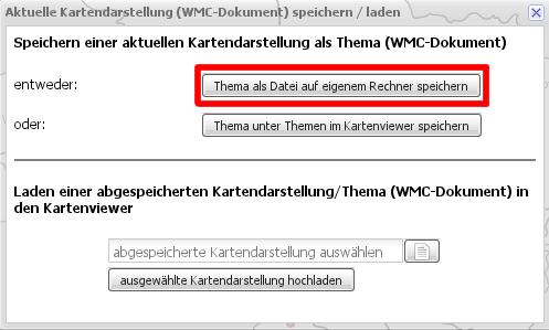 WMC Konfiguration neu abspeichern