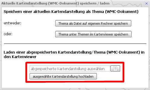 WMC Dokument auswaehlen und laden